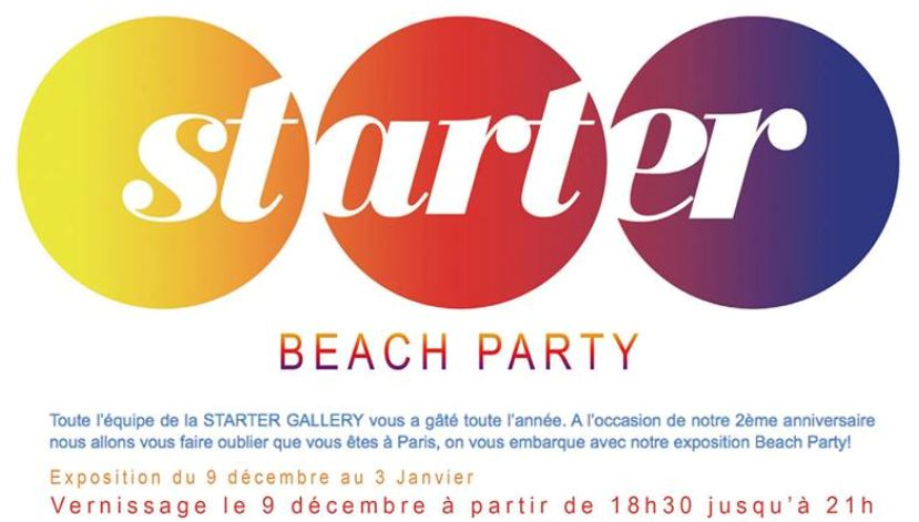 Starter Gallery Expo Beach Party 2014