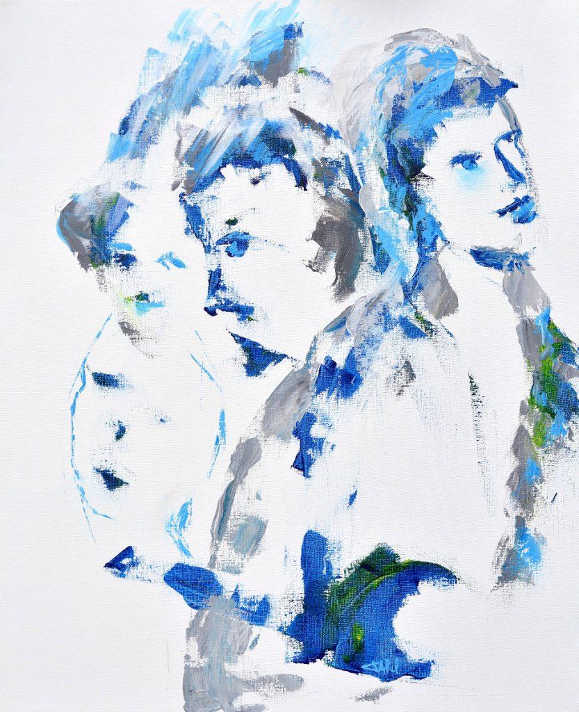 People V, Taille 60 x 73 cm, Acrylique sur toile